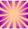 Retro Rays Background 2 vector image vector image
