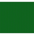 Knitted Seamless Pattern Green vector image vector image