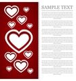 I love you Card Valentines Day vector image