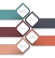 3d banners design website templates vector image