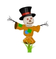 Cartoon Scarecrow Fantasy Character vector image