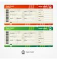 train tickets vector image