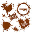 chocolate heart 380 vector image