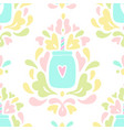 baroque smoothie jar ornament vector image