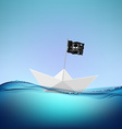pirate flag Stock vector image