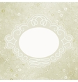 Valentine elegant card vector image vector image