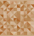Abstract background brown triangles vector image vector image