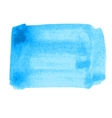 Water-color blue background vector image