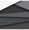 Background of several carbon fiber patterns vector image