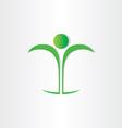 healthy man body health icon vector image vector image