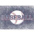 BASEBALL BACKGROUND vector image vector image