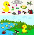 0815 10 duck v vector image