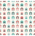 Animal seamless pattern of kennel vector image