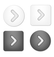 Arrow Navigation Buttons vector image vector image
