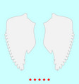 wings it is icons vector image