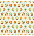 Reward seamless pattern of medal vector image