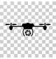 shutter spy airdrone icon vector image