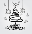 Christmas Doodle hand drawn vector image vector image