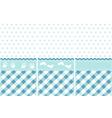 seamless baby boy pattern vector image