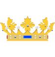 Queen crown vector image