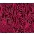 Seamless structured snake skin vector image