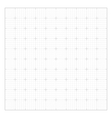 White square grid vector image