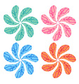 ArtFlowerColorful vector image