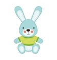 bunny toy icon image vector image