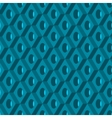 3d seamless pattern Abstract background vector image