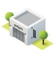 isometric gadget shop vector image