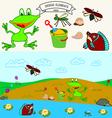 0815 11 frog v vector image