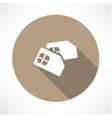 Sim card icon Flat design vector image