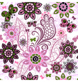 spring motley pattern vector image vector image