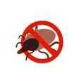 Warning sign with tick icon isometric 3d style vector image