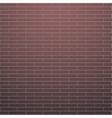 Red brick wall vector image