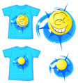 sport shirt fashion - vector image