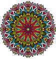 Beautiful Mandala Hindu symbol vector image