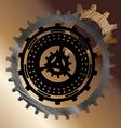 Gear Wheels Cogwheels vector image