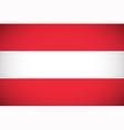 National flag of Austria vector image