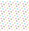 Seamless white grunge pattern vector image vector image