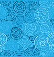 abstract seamless pattern of circles lines and vector image