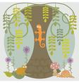 Life Under Tree vector image