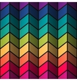 Rainbow colorful stained-glass rectangles abstract vector image