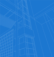 Architecture scene vector image