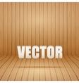 Old curved wooden background Grunge old interior vector image