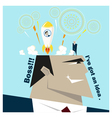 Business Idea series Business Team 5 concept vector image