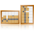 maths abacus vector image vector image