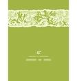 Green underwater seaweed vertical torn seamless vector image