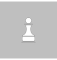 Chess Pawn computer symbol vector image