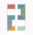 Paper background for design minimalist style vector image
